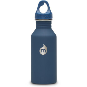 MIZU M4 Bottle with Blue Loop Cap 400ml Soft Touch Blue LE